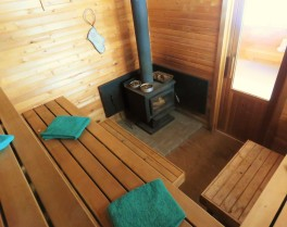 Towels will be ready for you in the Sauna!